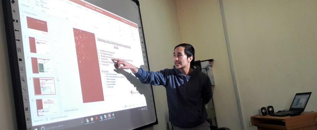 Train the trainers-CSR by Amit Thapa Magar