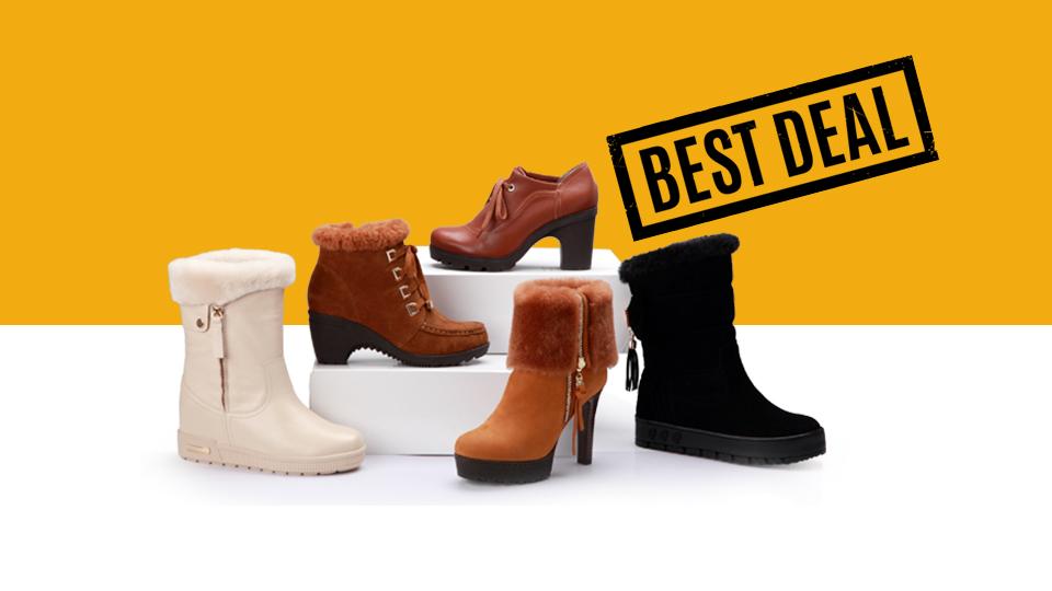 Best Deals on Winter Footwear